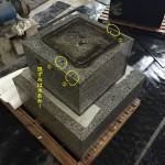お墓のリフォームやクリーニング。基本は自社で対応です