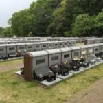 川崎市の市営霊園、早野聖地公園の壁面型墓所について
