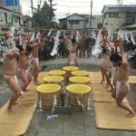 多摩区のお寺さんで帰山式がありました。