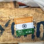 インド加工の製品が入荷してきました