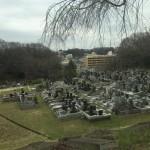 川崎市 市営の緑ヶ丘霊園に来ました