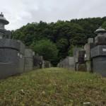 川崎市 緑ヶ丘霊園の墓所でご納骨の準備など