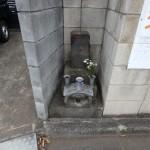 狛江市 道端にある石塔の移転。その打ち合わせをしてきました