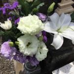川崎市 多摩区の寺院墓地二軒でご納骨です