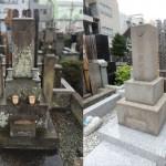 狛江市 お墓のリフォーム工事、ほぼ終了です。