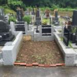 お見積り時の必須事項~川崎市麻生区のお墓に現場確認へ。
