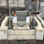 川崎市多摩区登戸の寺院墓地でご納骨です