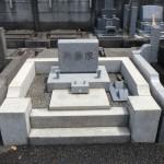 川崎市多摩区 お墓クリーニングの前と後。