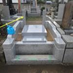 川崎市麻生区 外柵据付工事もほぼ完了です