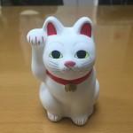 招き猫と世田谷線とお墓参り…。