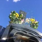 東京都稲城市 お墓の開眼法要とご納骨に行ってきました。
