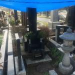 川崎市の緑ヶ丘霊園 お骨の取り出しをしてきました。