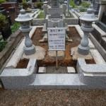 川崎市の緑ヶ丘霊園での外柵リフォーム。