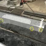 お墓工事の下準備と補強金具に対する考え方