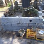 狛江市 寺院墓地で外柵の修繕作業をしてきました