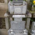 お墓のリフォーム、花立て(花筒)の交換