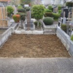 稲城市でのお墓じまい(お墓の解体工事)。思ったより手間取りました