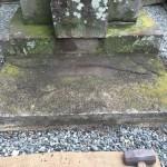 川崎市の寺院墓地 ご納骨の立会いにやって来ました。