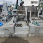 川崎市多摩区 寺院墓地でお墓の解体工事をしました。