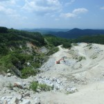 福島の白御影石、芝山石のふるさとを訪ねてきた。