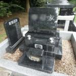 川崎市の市営墓地 緑ヶ丘霊園でご納骨の下準備