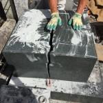 世田谷区の共同墓地 お墓の解体工事がスタートです。