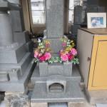 川崎登戸の町石屋、今朝の展示場。やわらかな雰囲気になりました。