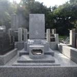川崎市麻生区 寺院墓地でのお墓工事が完了しました