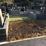 年末の挨拶を兼ね、お墓じまいの現場の最終確認をしてきました。川崎市麻生区。