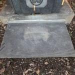 川崎市麻生区で年内最後のご納骨と、鉄平石の拝石について。