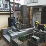 ご納骨とお骨取出しのお手伝いに行ってきました。 川崎市多摩区登戸・狛江市の寺院墓地