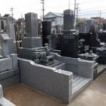 外柵リフォームがすべて終了。施工前・施工後の写真と完成予想図も。川崎市多摩区の寺院墓地。
