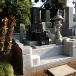 狛江市の寺院墓地 外柵のリフォーム工事が終了。