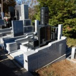 川崎市麻生区のお墓で石塔・外柵の建立が終了しました。