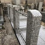 新規外柵が完成しました(川崎市多摩区 寺院墓地)