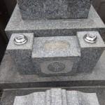 お墓のリフォームとクリーニング。川崎市多摩区の寺院墓地にて