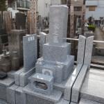 丘カロート外柵に石塔を据付けてきました。狛江市の寺院墓地