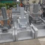 川崎市多摩区のお寺で外柵・墓石工事。