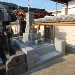 防草対策もバッチリ。川崎市多摩区 寺院墓地の外柵のリフォームが終了しました。