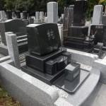 川崎市 緑ヶ丘霊園で洋型墓石を建立してきました