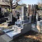 狛江のお寺でお墓の建立をおこないました!