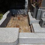 お墓のリフォームとかお墓じまい。川崎市麻生区の各墓地にて