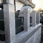 川崎市多摩区の寺院墓地 塔婆立の修繕工事を行いました