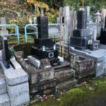 大谷石製墓地外柵のリフォーム工事が完成 川崎市多摩区の寺院墓地
