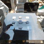 石塔水あか落としと地震対策が完了。狛江市の寺院墓地