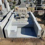 川崎市緑ヶ丘霊園でお墓の外柵リフォーム工事を行いました。